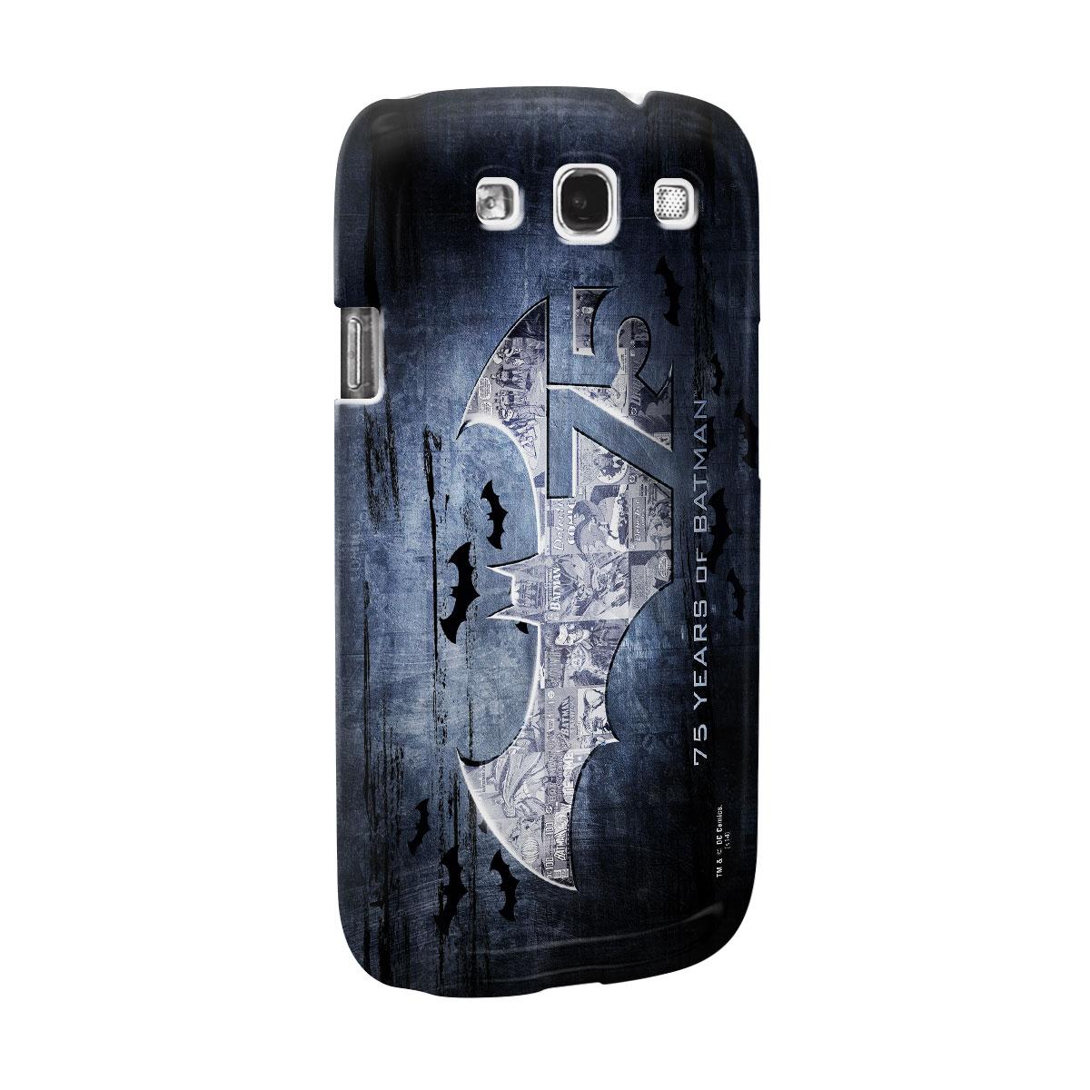 Capa de Celular Samsung S3 Batman 75 Anos Logo
