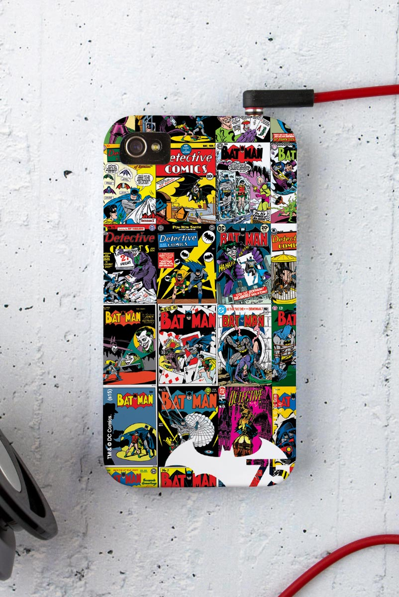 Capa para iPhone 4/4S Batman 75 Anos HQ