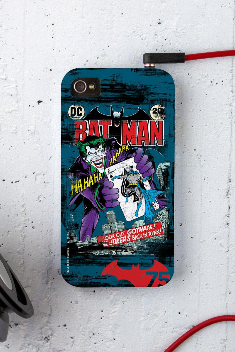 Capa para iPhone 4/4S Batman 75 Anos HQ Nº251