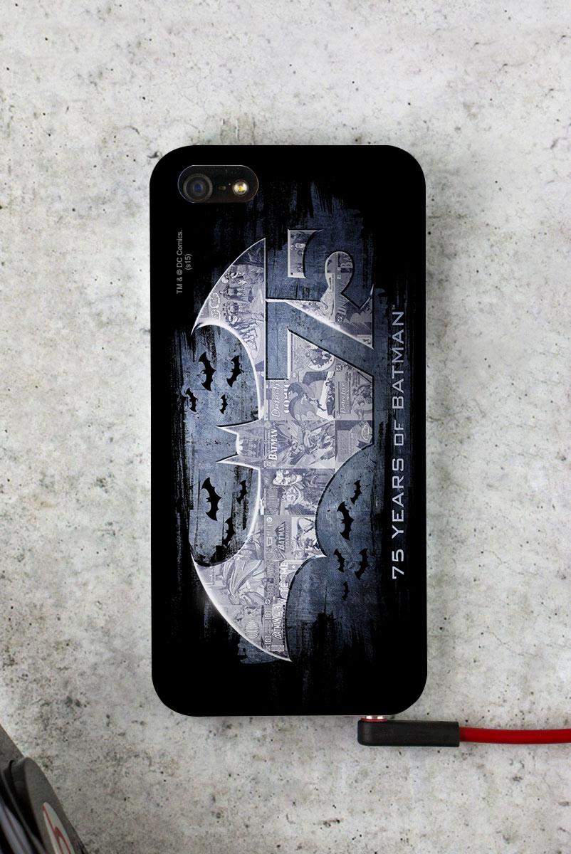 Capa para iPhone 5/5S Batman 75 Anos Logo 2
