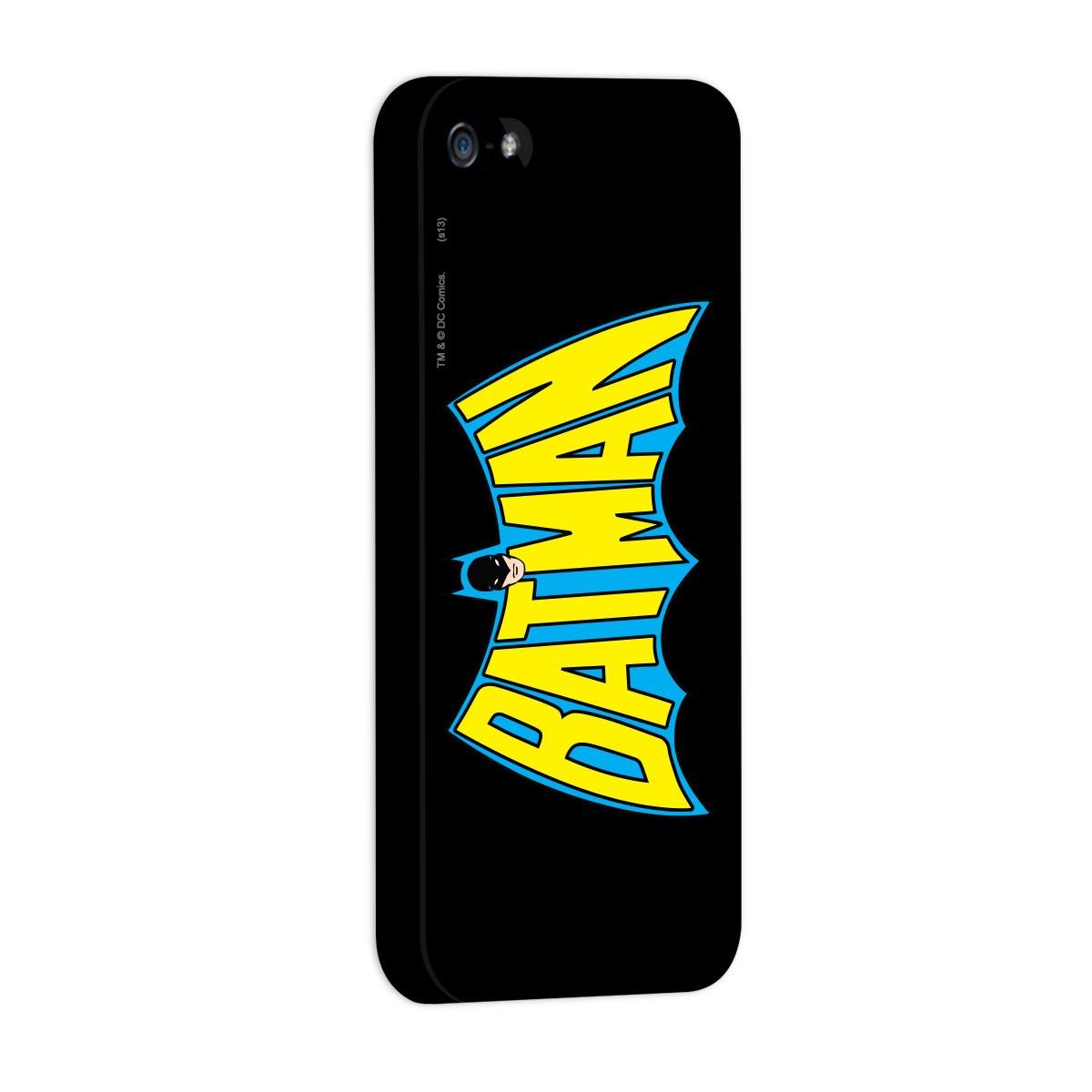 Capa de iPhone 5/5S Batman - Logo 60s