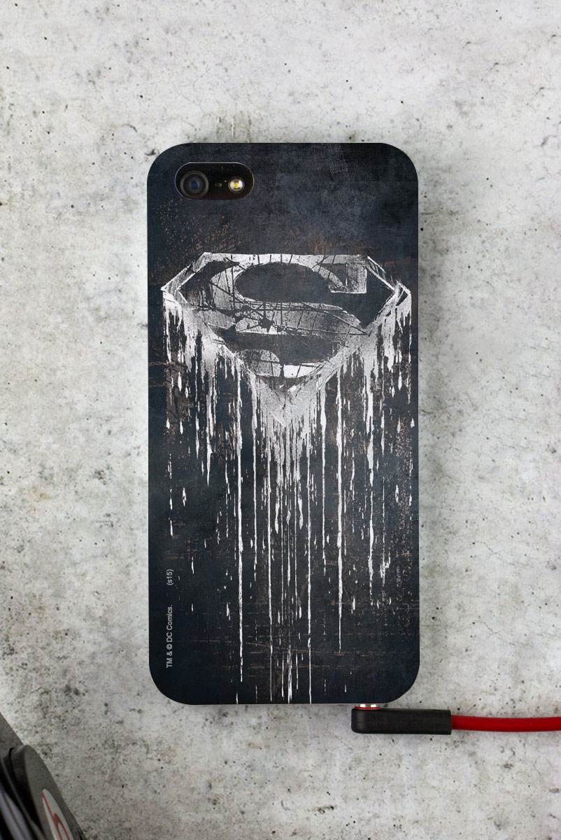 Capa para iPhone 5/5S Superman Steel Melting