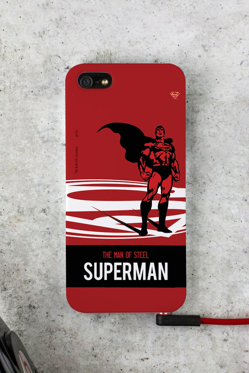 Capa para iPhone 5/5S Superman The Man of Steel