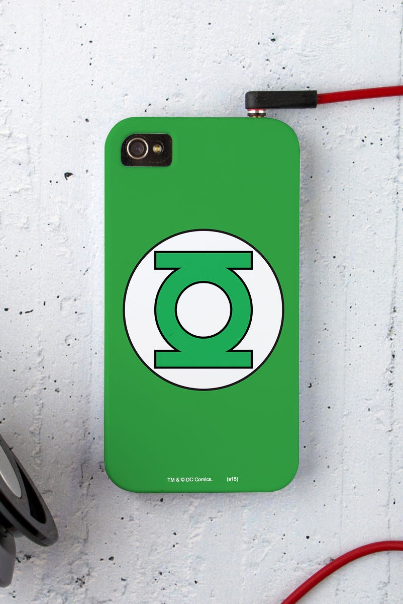 Capa para iPhone 4/4S Lanterna Verde Logo