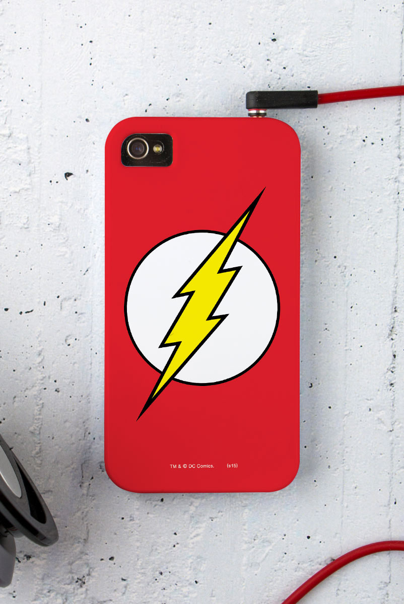 Capa para iPhone 4/4S The Flash Logo