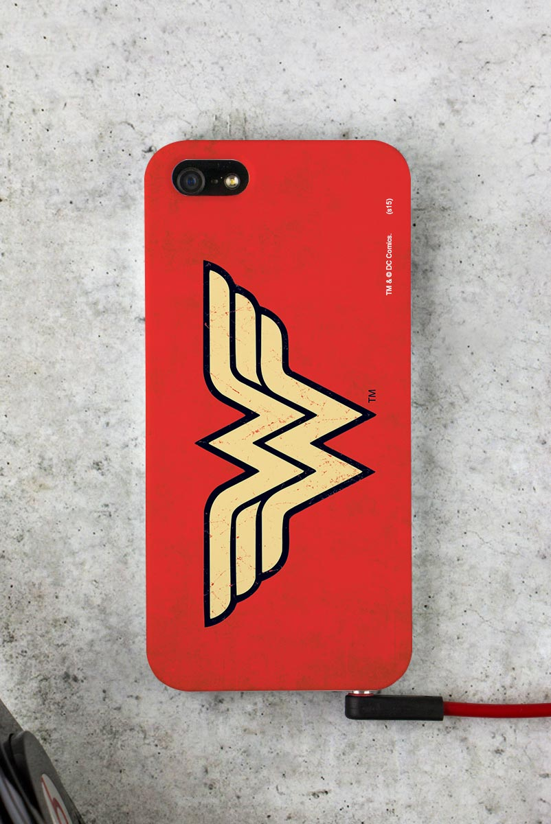 Capa Para iPhone 5/5S Power Girls Wonder Woman