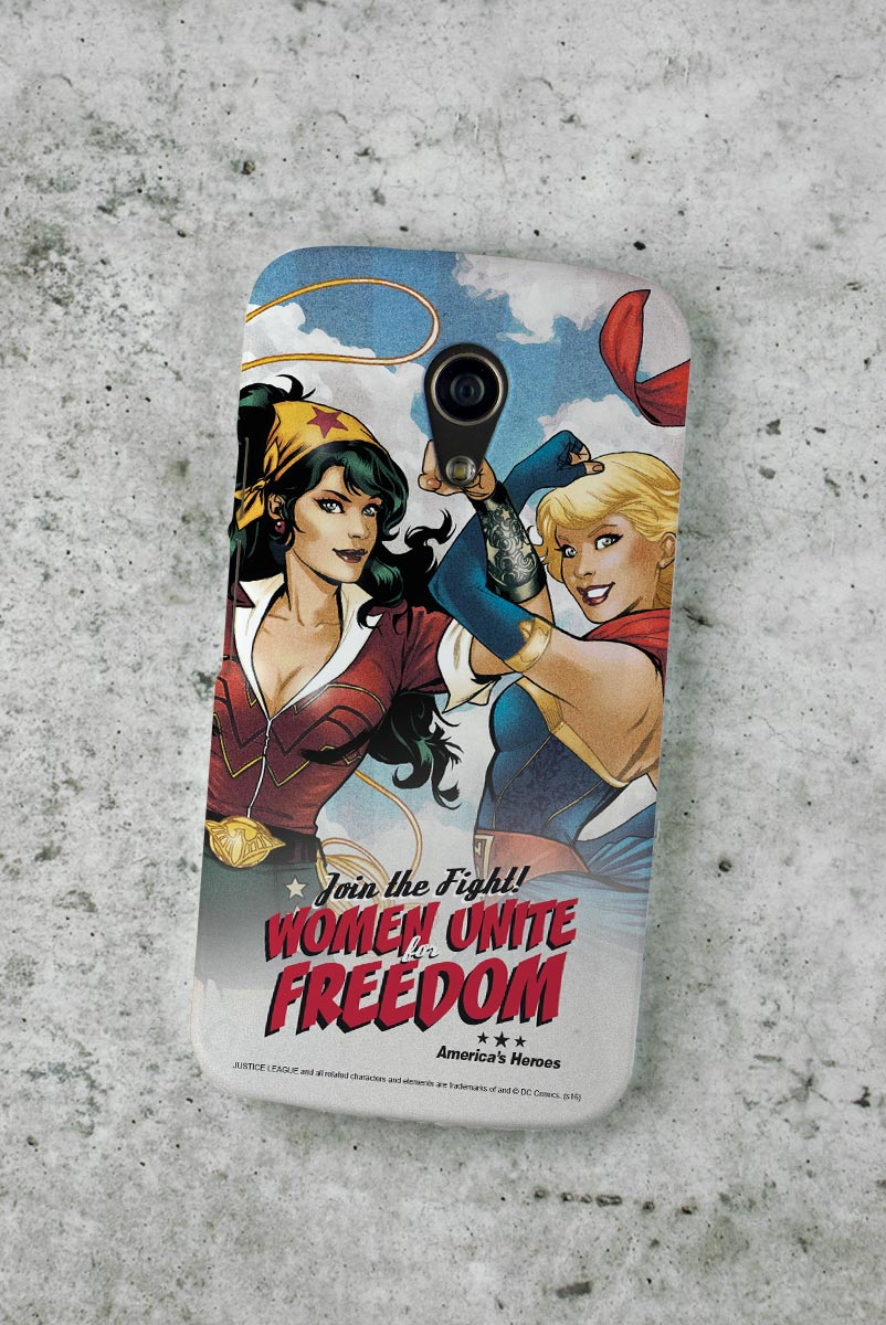 Capa para Motorola Moto G 2 Women Unite for Freedom