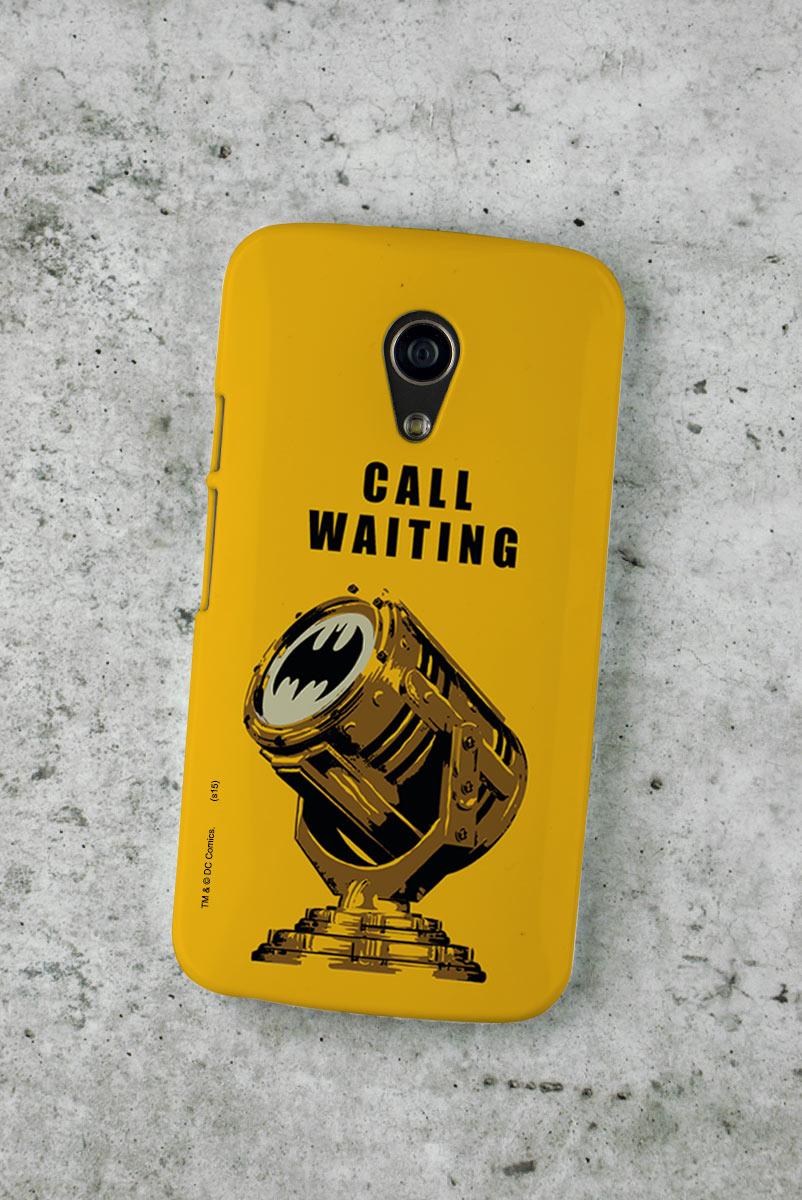 Capa para Motorola Moto G 2 Batman Chamada em Espera