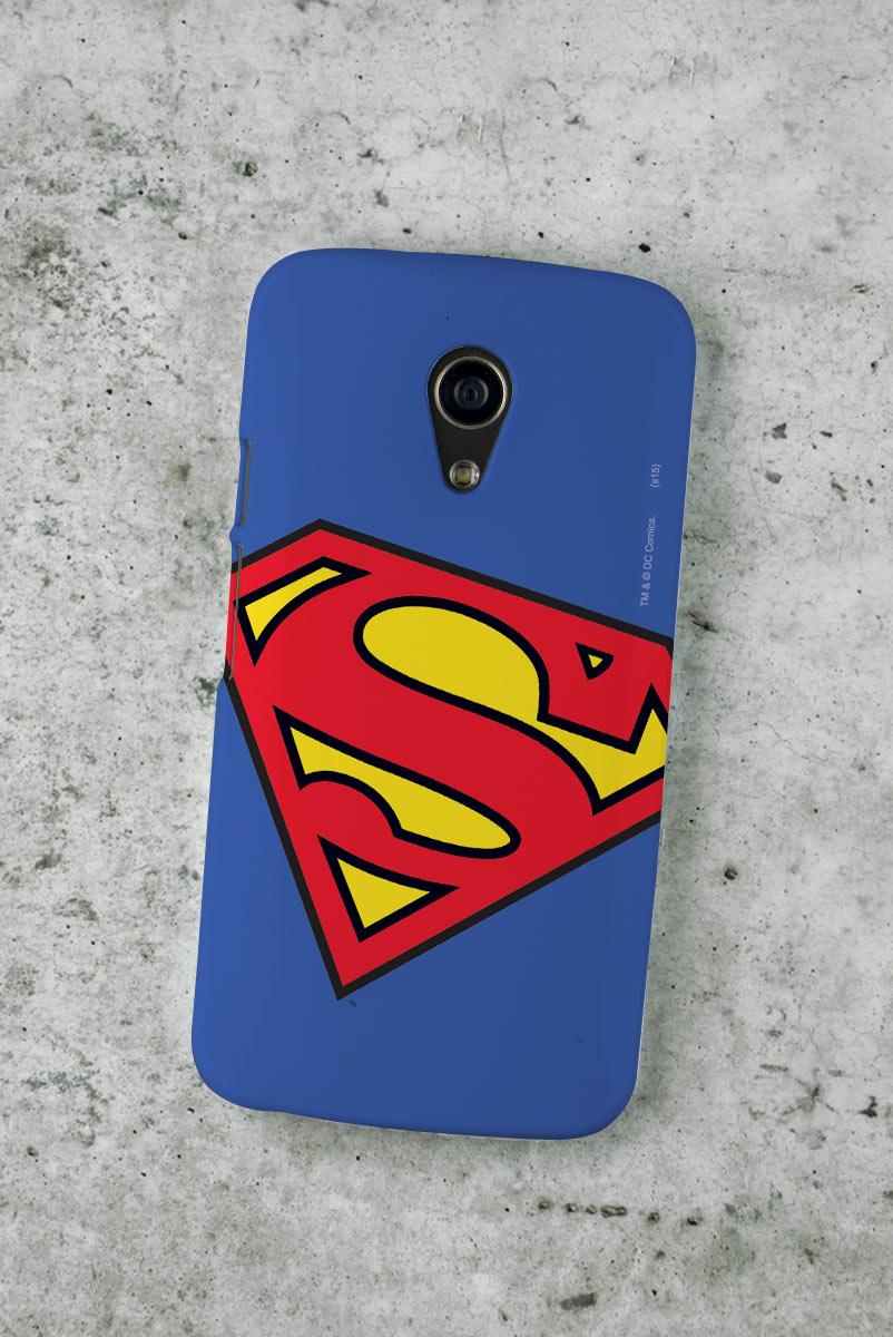 Capa para Motorola Moto G 2 Superman Logo Oficial