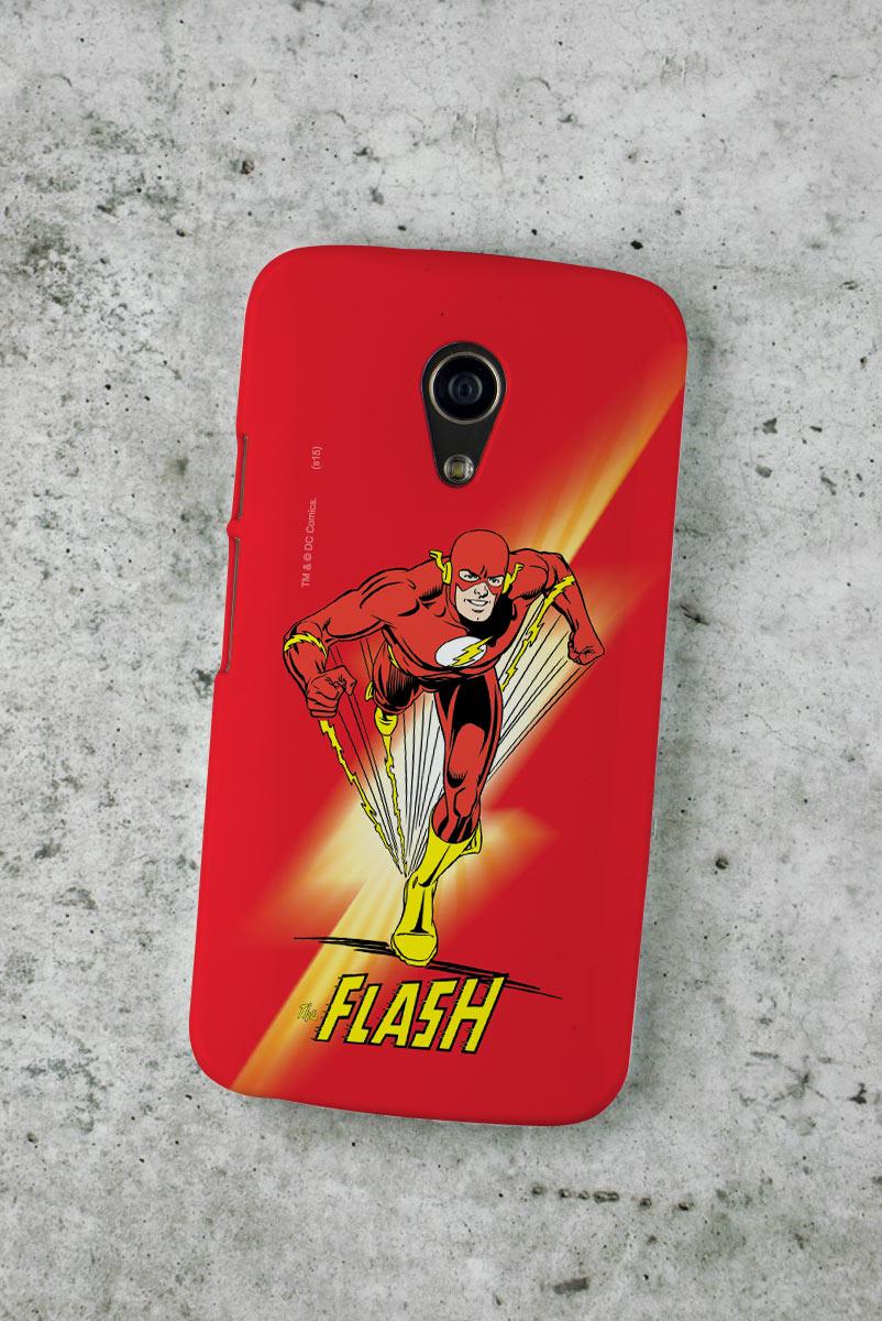 Capa para Motorola Moto G 2 The Flash Em A��o
