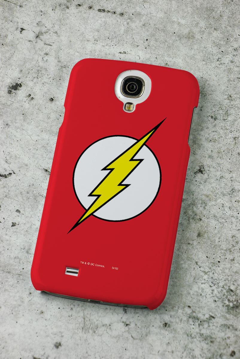 Capa para Samsung Galaxy S4 The Flash Logo