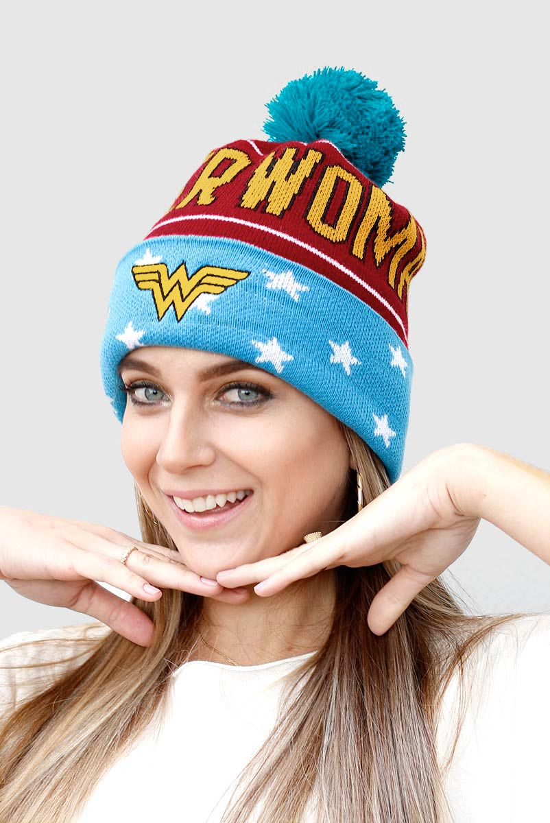 Gorro Wonder Woman Logo