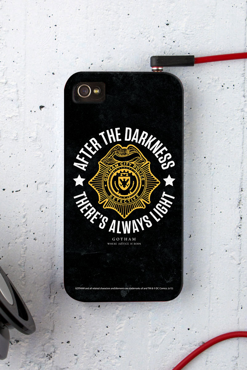 Capa para iPhone 4/4S Gotham There´s Always Light