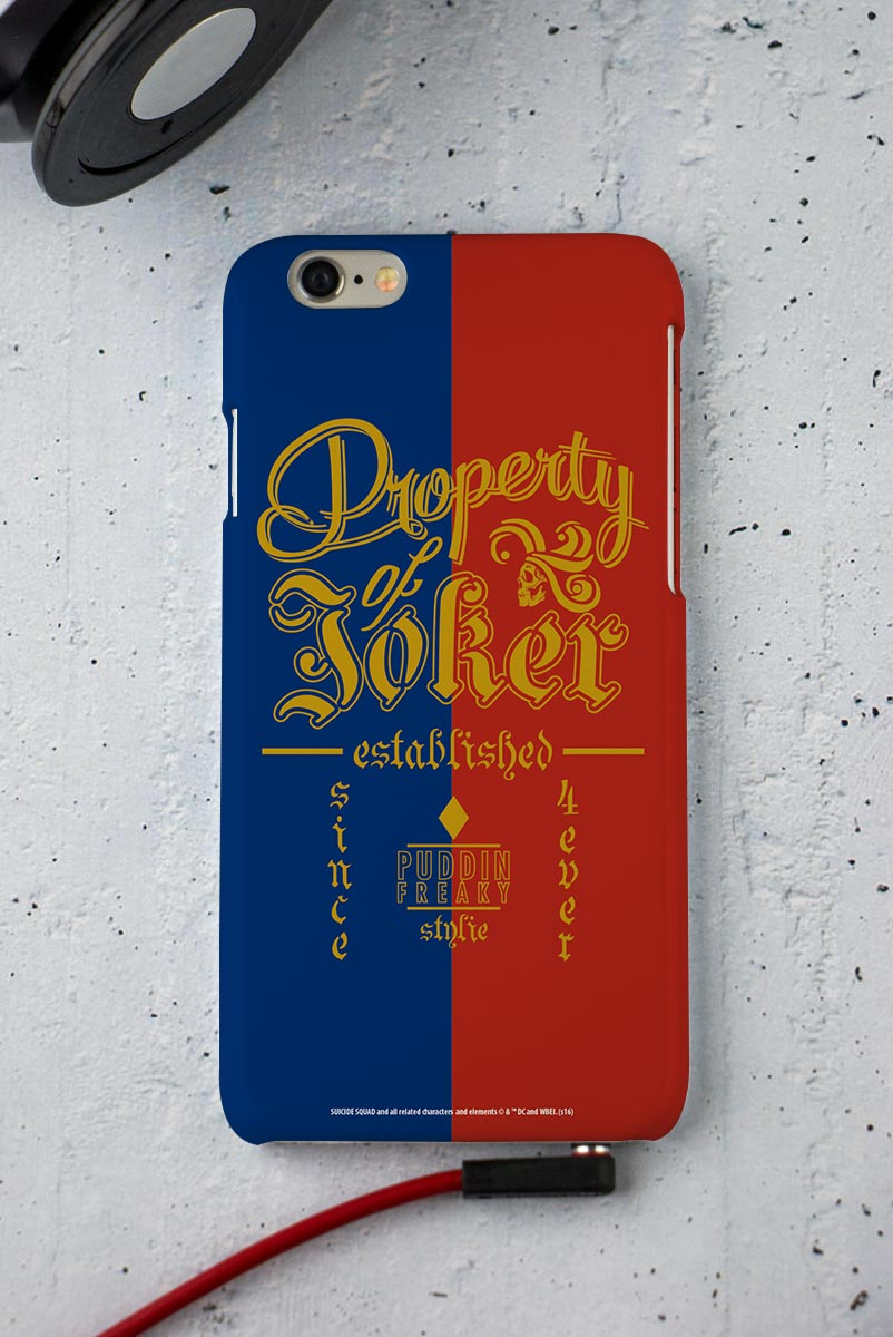 Capa para iPhone 6/6S Esquadr�o Suicida Property of Joker