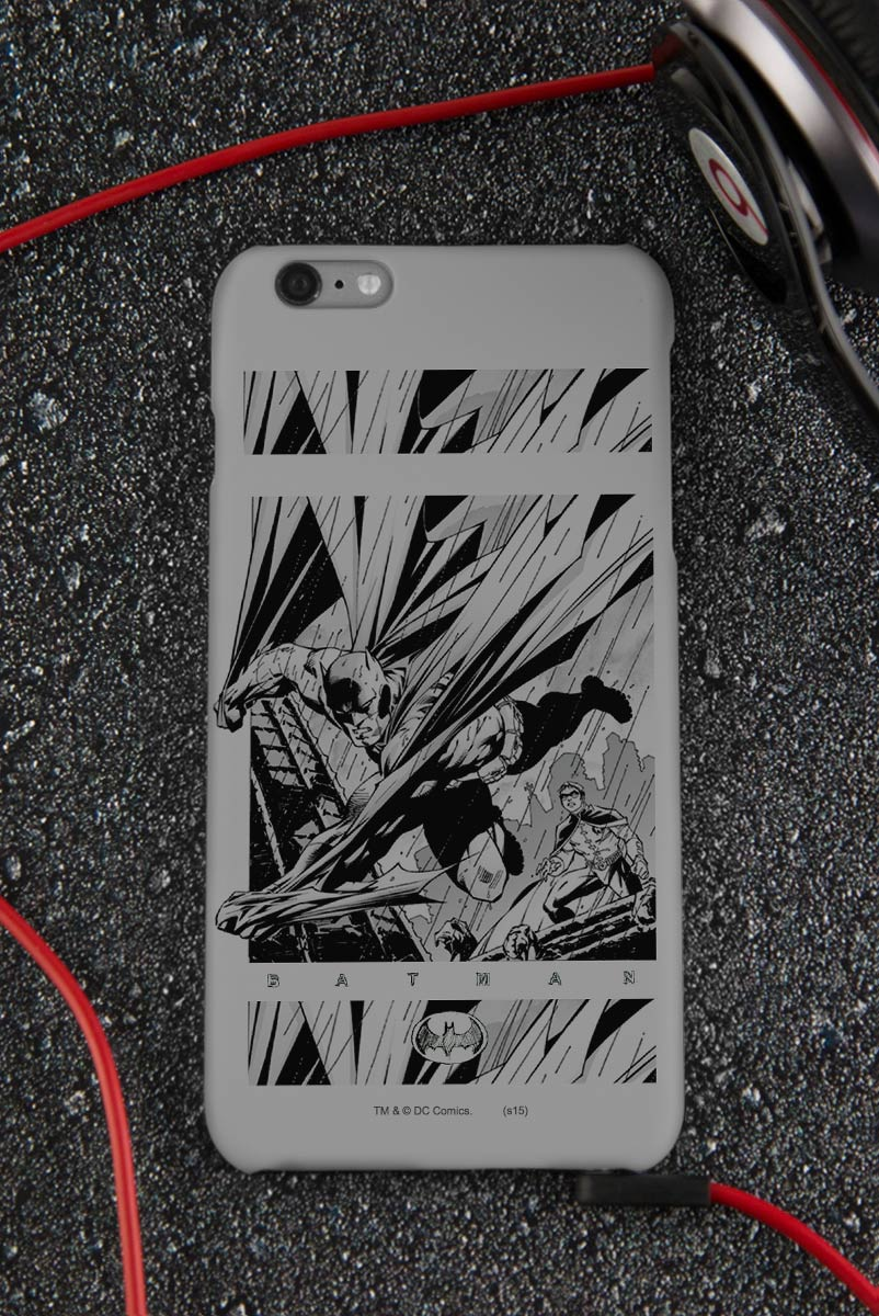 Capa para iPhone 6/6S Plus Tracing Batman e Robin 2