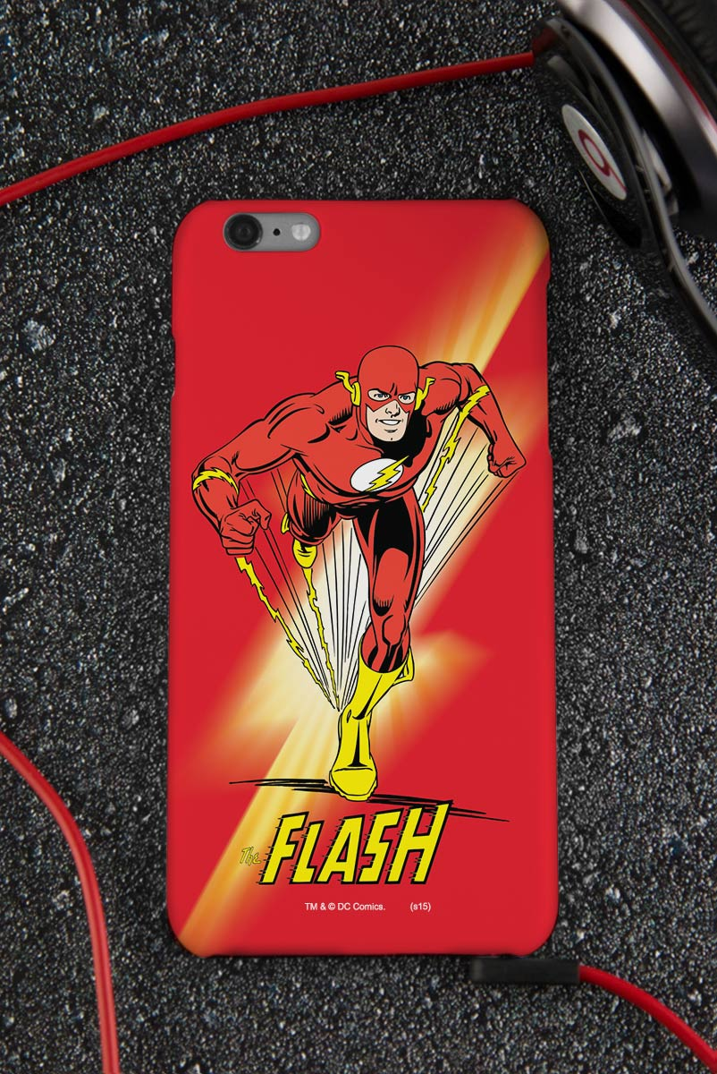 Capa para iPhone 6/6S Plus The Flash Em Ação