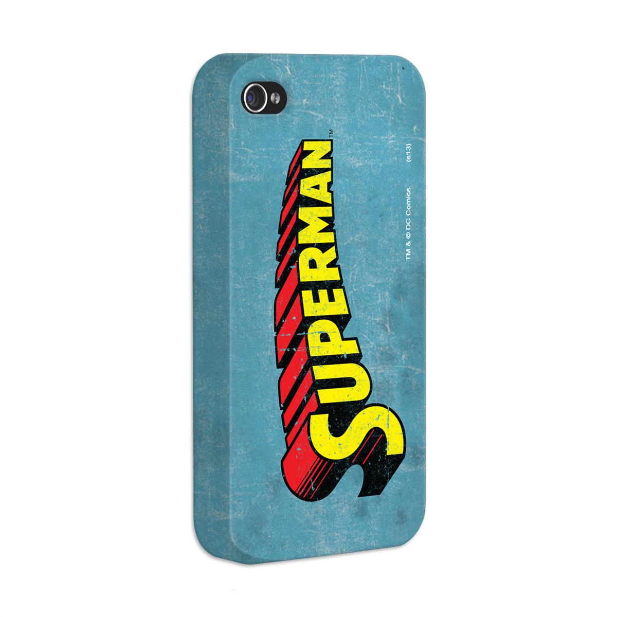 Kit Com 3 Capas de iPhone 4/4S Superman - Logos