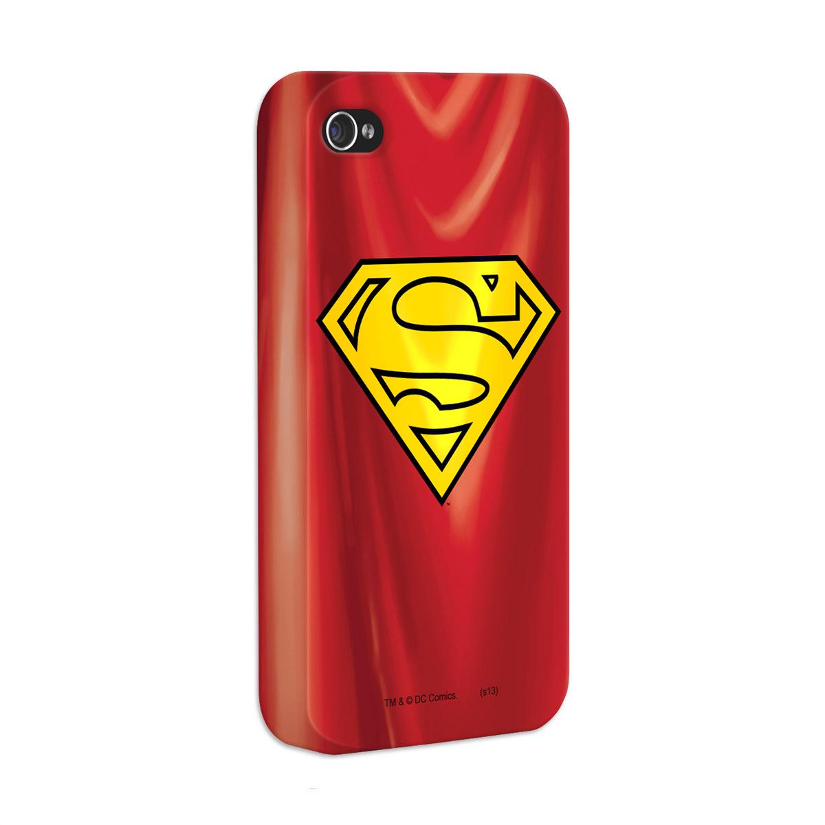 Kit Com 3 Capas de iPhone 4/4S Superman - The Man Of Steel