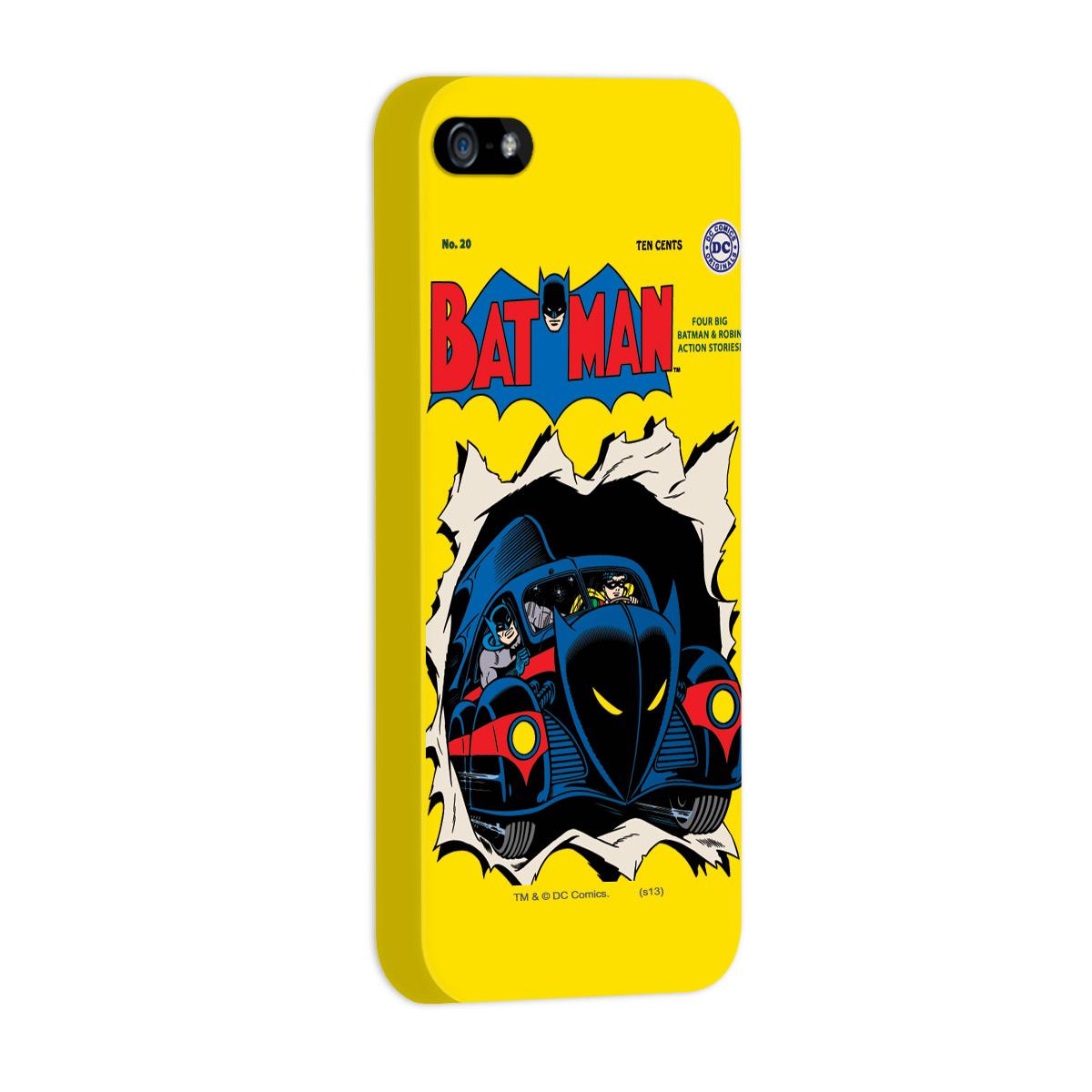 Kit Com 3 Capas de iPhone 5/5S Batman - HQ