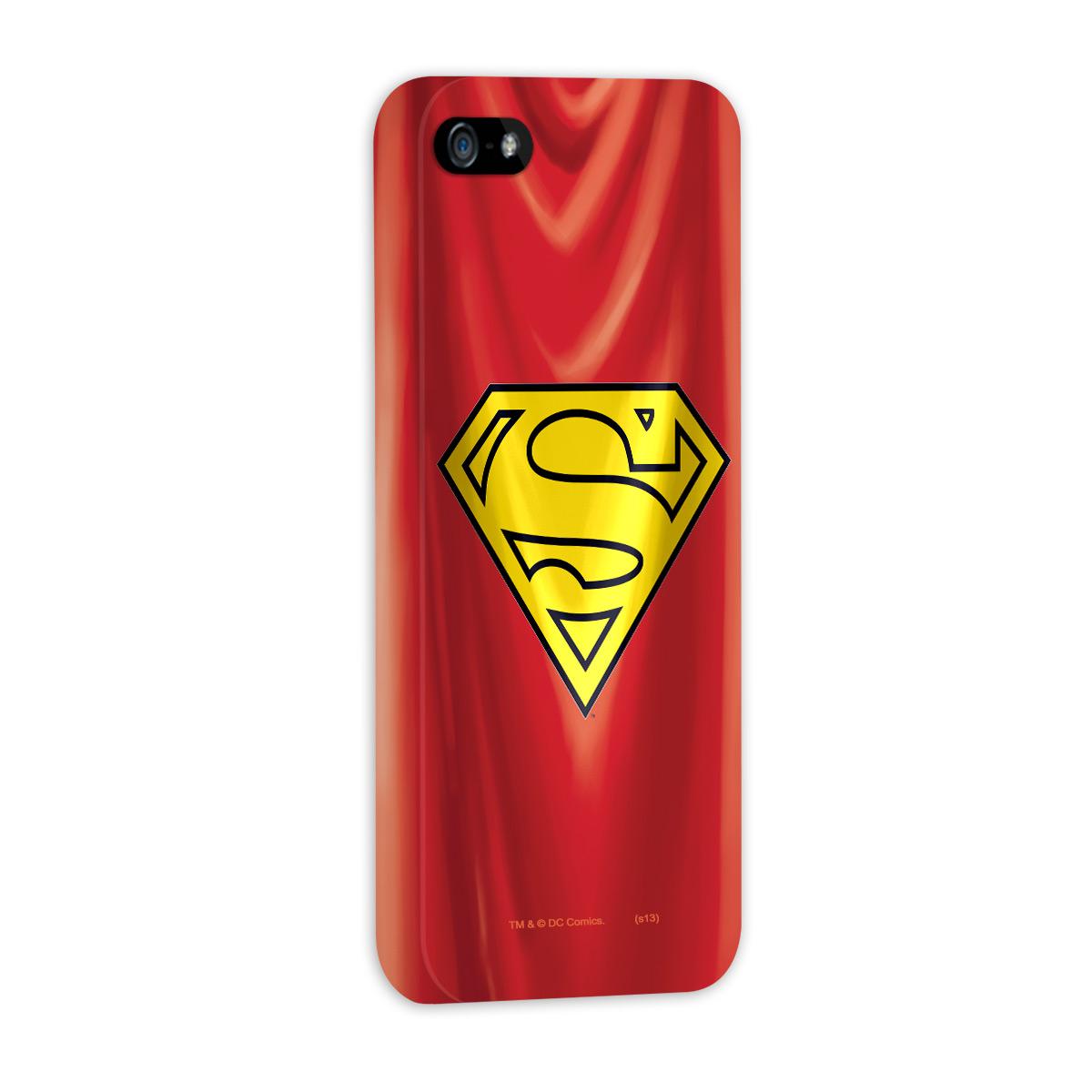 Kit Com 3 Capas de iPhone 5/5S Superman - The Man Of Steel