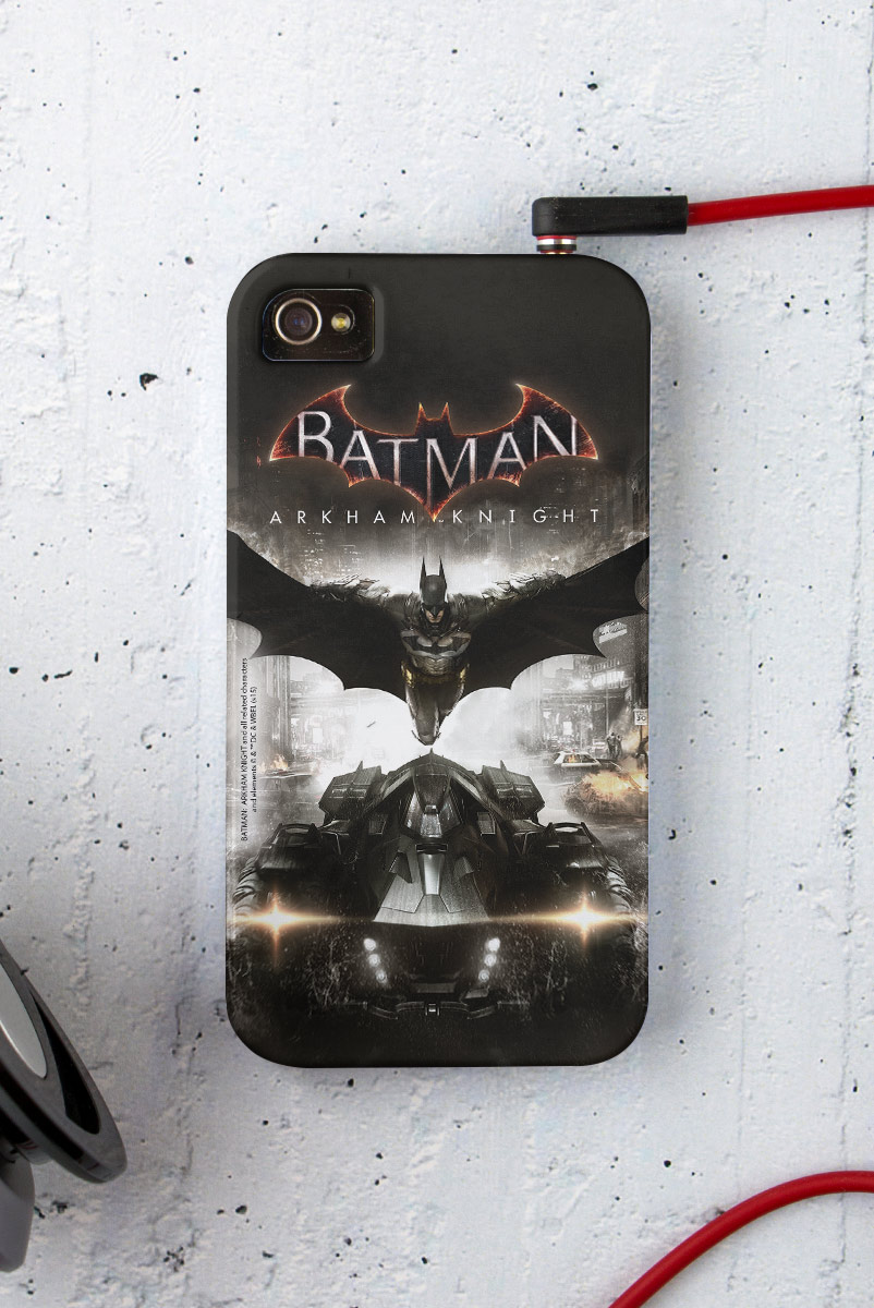 Capa para iPhone 4/4S Batman Arkham Knight Action