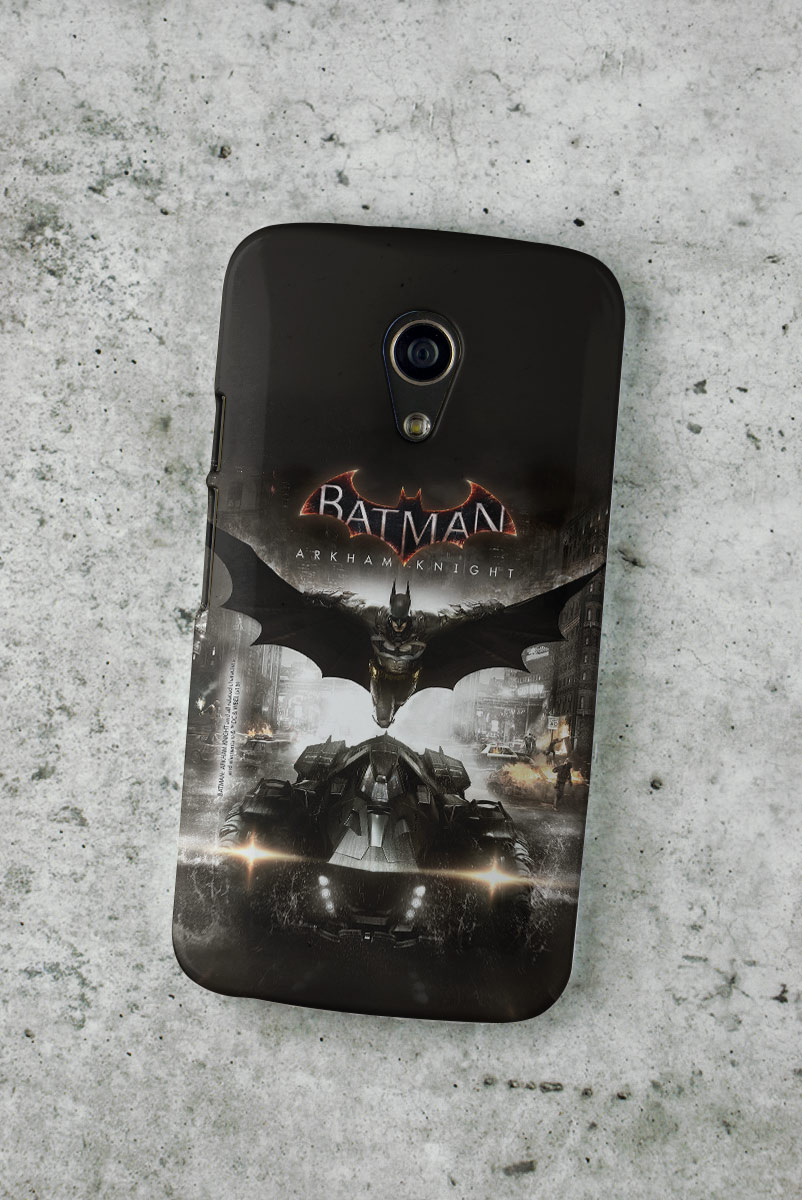 Capa para Motorola Moto G 2 Batman Arkham Knight Action