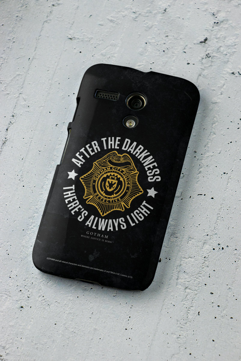 Capa para Motorola Moto G  1 Gotham There´s Always Light