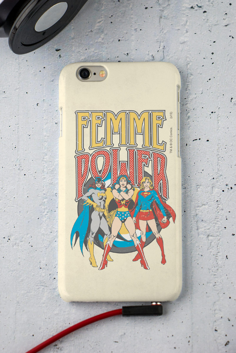 Capa para iPhone 6/6S Power Girls Femme Power