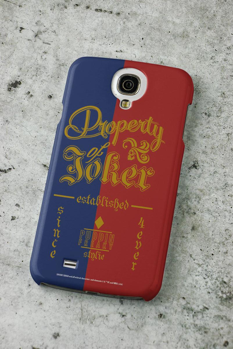 Capa para Samsung Galaxy S4 Esquadr�o Suicida Property of Joker