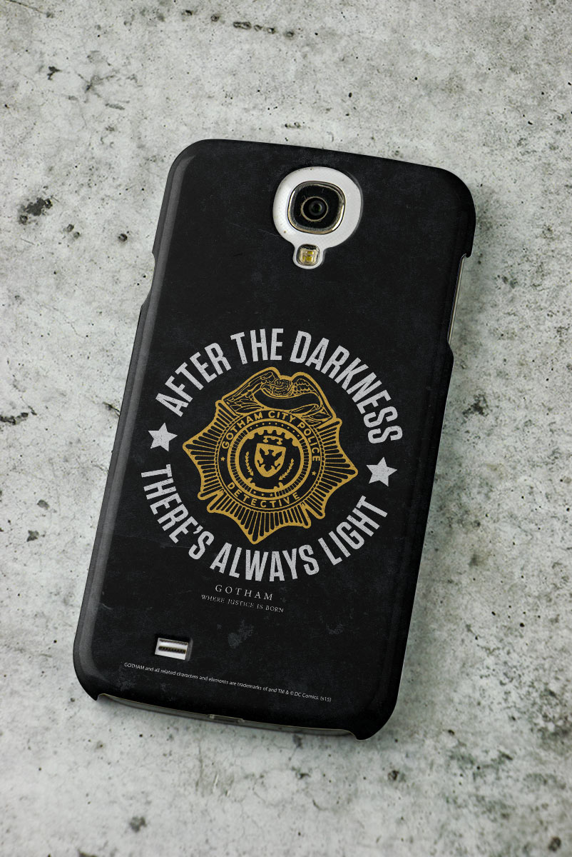Capa para Samsung Galaxy S4 Gotham There´s Always Light