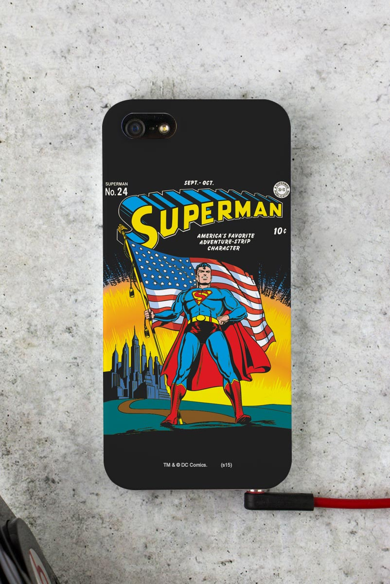 Capa para iPhone 5/5S Superman HQ Nº24