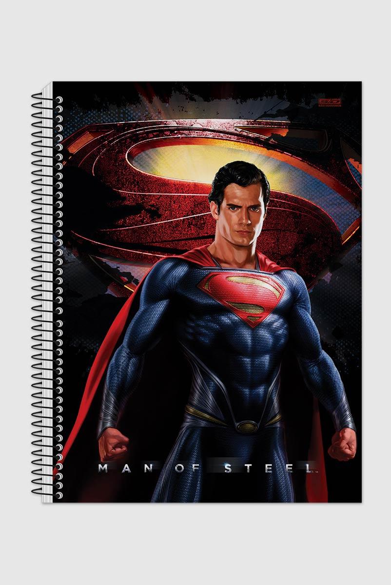 Caderno Superman Man of Steel Hero 1 Matéria