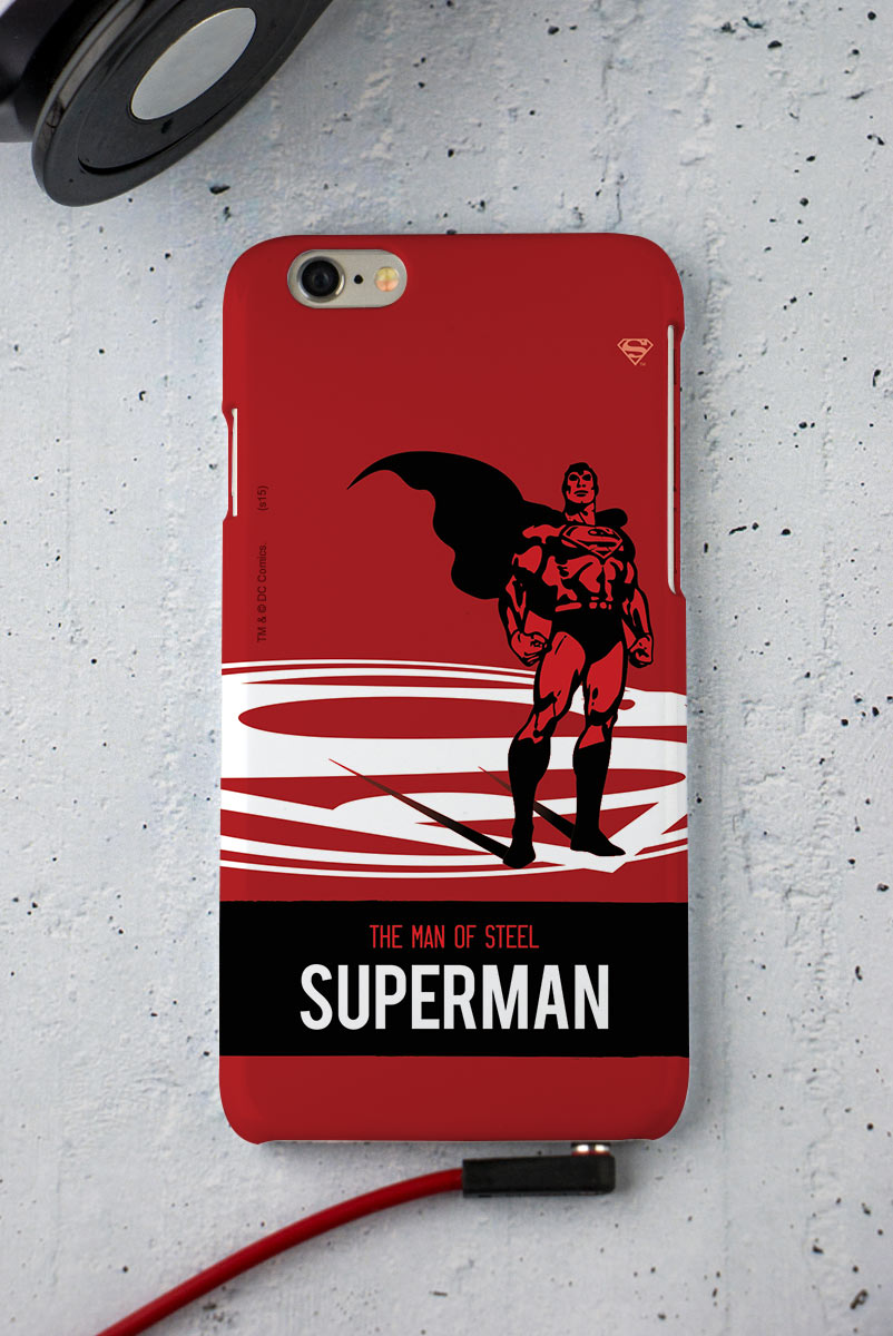 Capa para iPhone 6/6S Superman The Man of Steel