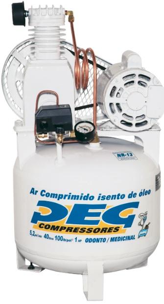 Compressor BPIS-5,2/40 - 5,2pcm  - Sócompressores