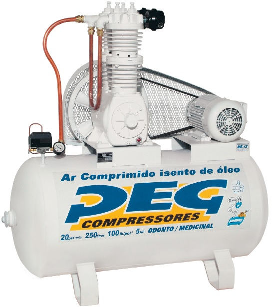 Compressor BPIS-20/250 - 20pcm  - Sócompressores
