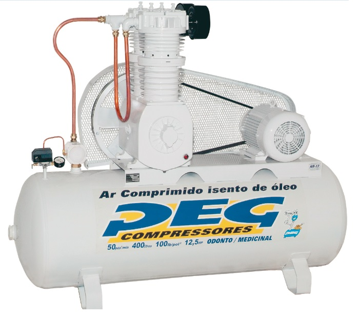 Compressor BPIS-50/415 - 50pcm  - Sócompressores