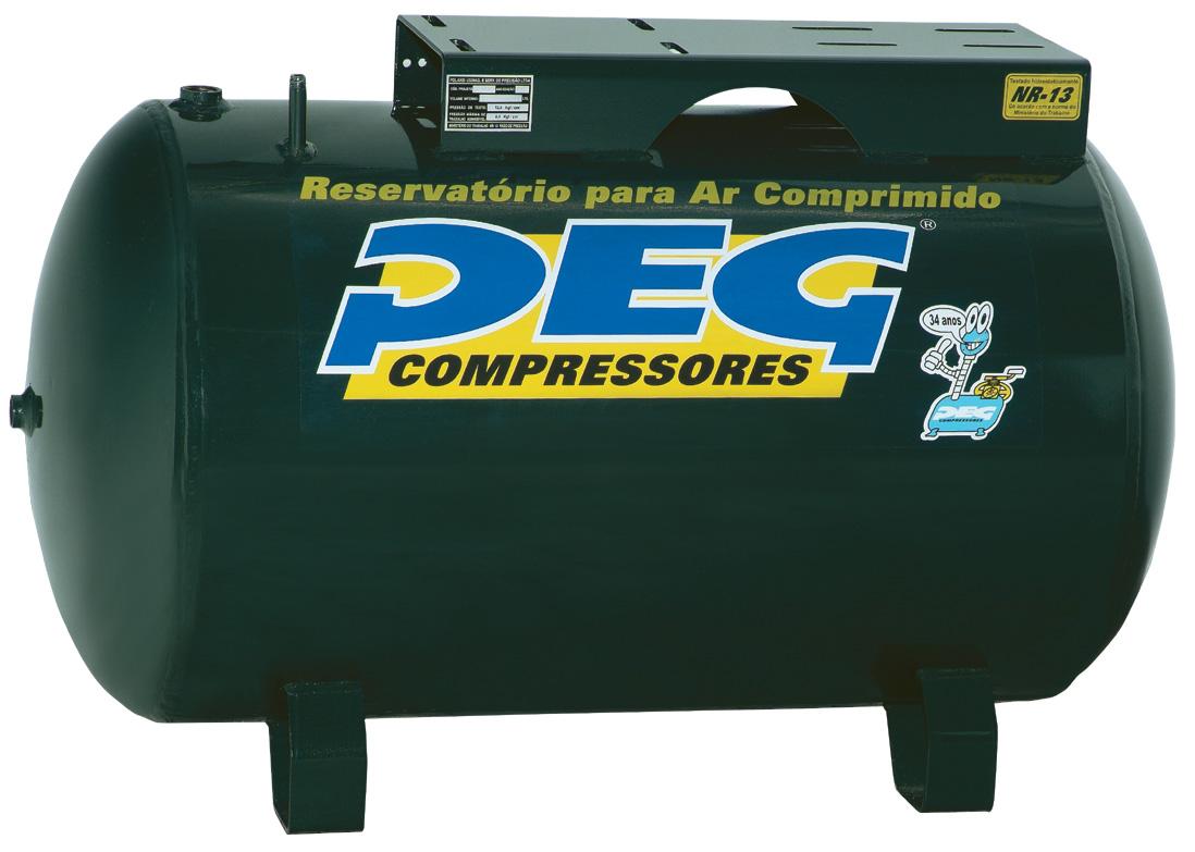 Reservatório de Ar H60L  - Sócompressores