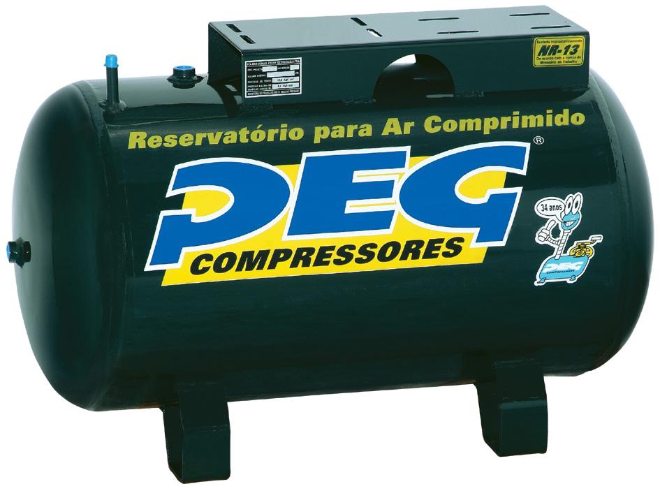 Reservatório de Ar H100L  - Sócompressores