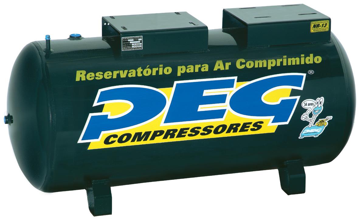 Reservatório de Ar H250L  - Sócompressores