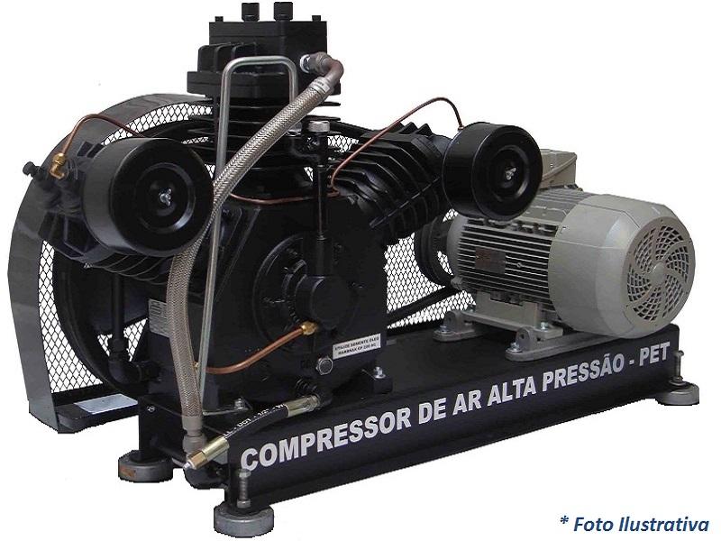 Compressor PET SAPR-30ES/AD - 25BAR  - Sócompressores