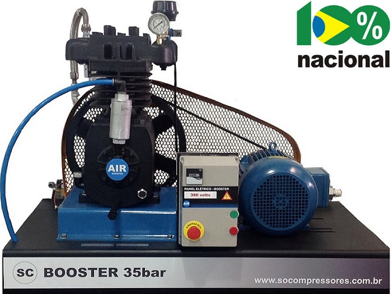Booster BSCL-10/AD - 10HP  - Sócompressores