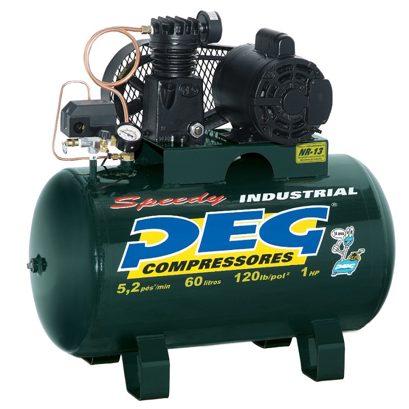 Compressor  NBPI-5,2/70 - 5,2pcm  - Sócompressores