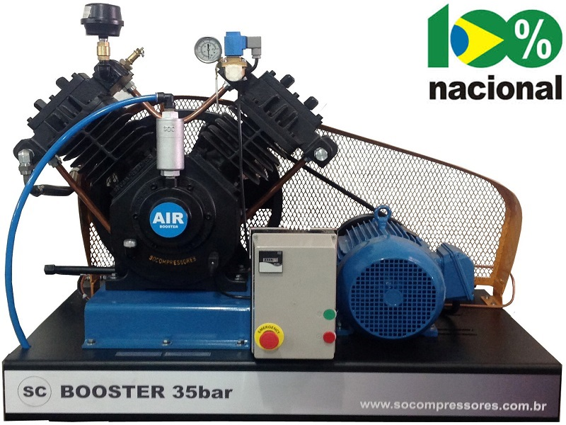 Booster BSCV-15/AD - 15HP  - Sócompressores