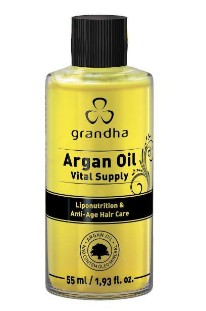 Argan Oil  Vital Supply Grandha 55ml  - Beleza Outlet