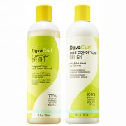 KIT DEVA CURL DELIGHT  LOW-POO + ONE CONDITION 355ML