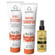 KIT  GRANDHA MIX OIL COCONUT & ARGAN