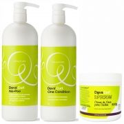 Kit Litro Devacurl  + Super Cream 500g