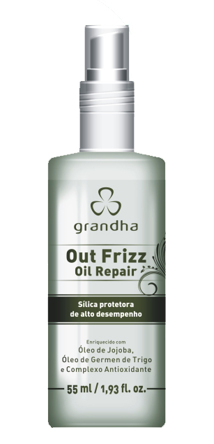 Out Frizz Oil Repair 55ml - Grandha  - Beleza Outlet