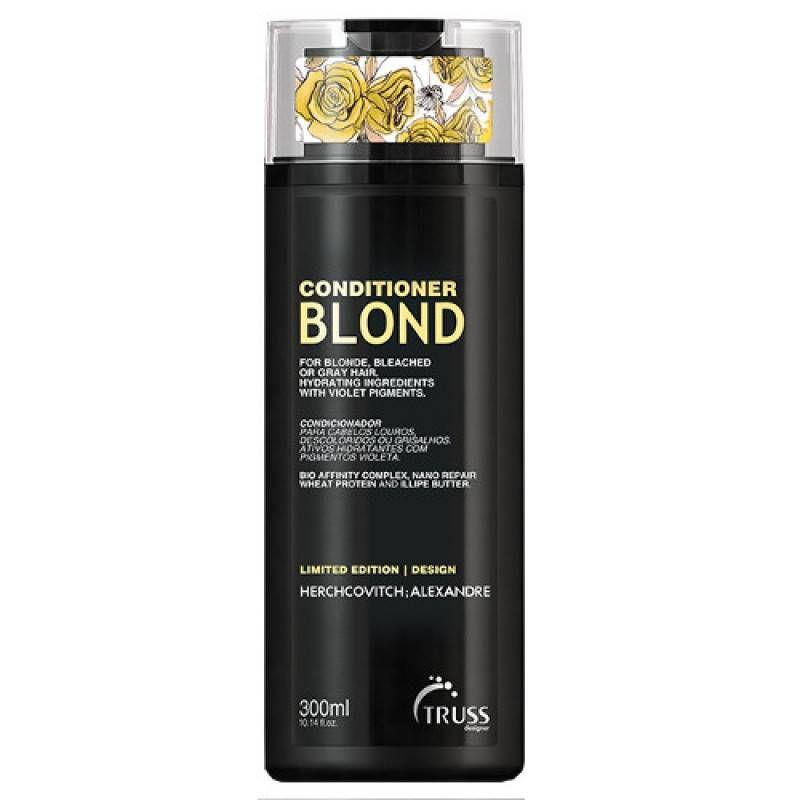 Condicionador Blond Alexandre Herchcovitch 300ml – Truss  - Beleza Outlet