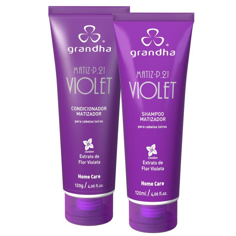 Grandha Matiz P.21 Violet  - Beleza Outlet